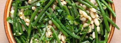 Green beans shallot