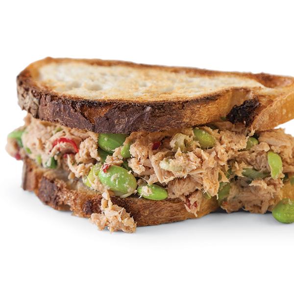 the bitten word edamame miso tuna salad sandwiches