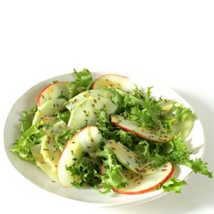 Kohlrabi and Apple Salad with Caraway sq