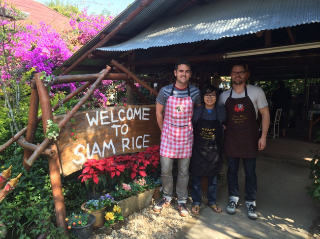 Siam Rice Thai Cookery school Chiang Mai