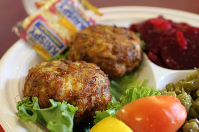 fried maryland crab cakes