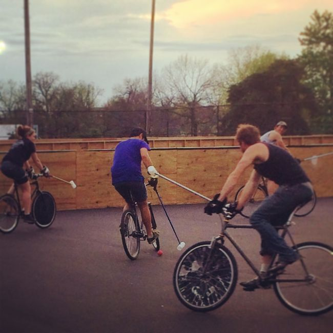 Bike Polo in Lexington Kentucky
