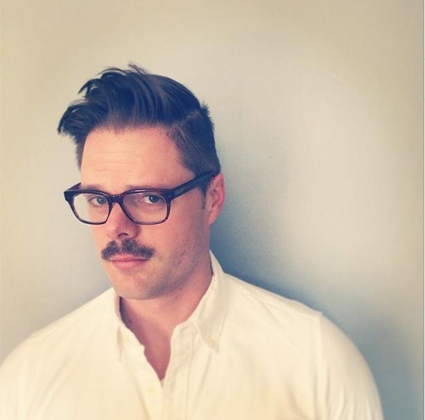 Zach's mustache