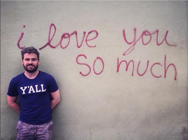 Clay love mural