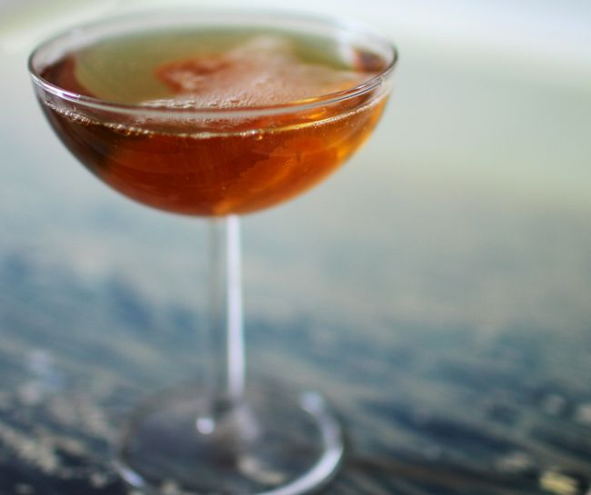 Seelbach champagne cocktail