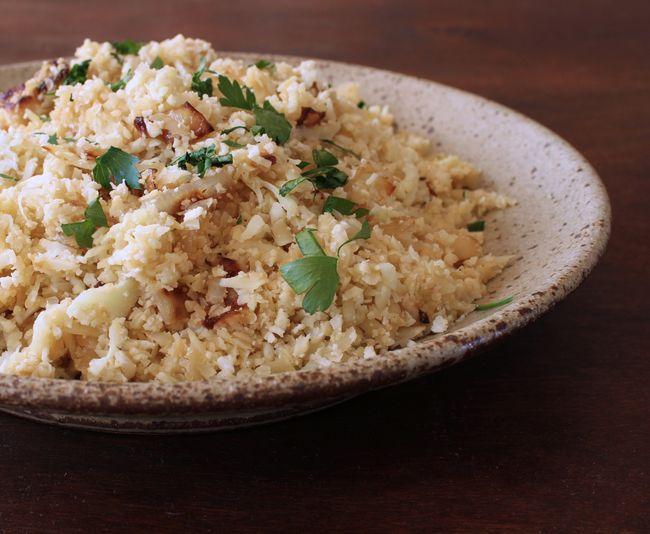 Cauliflower paleo rice