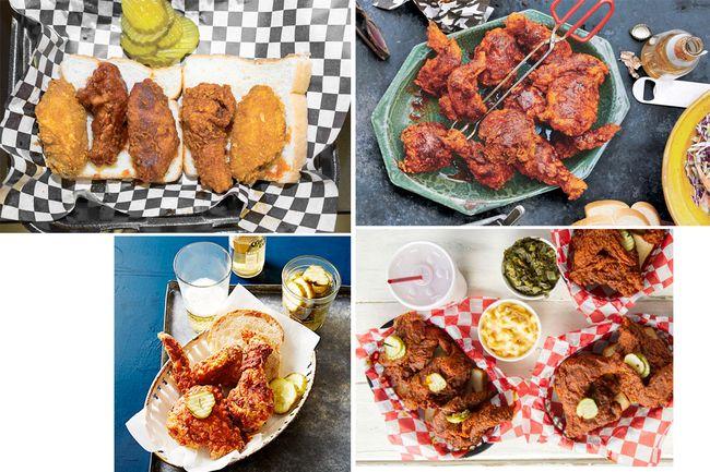 Nashville hot chicken montage