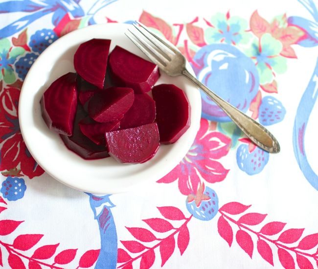 Wine pickled beets 1