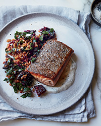Caraway salmon rye berry FW