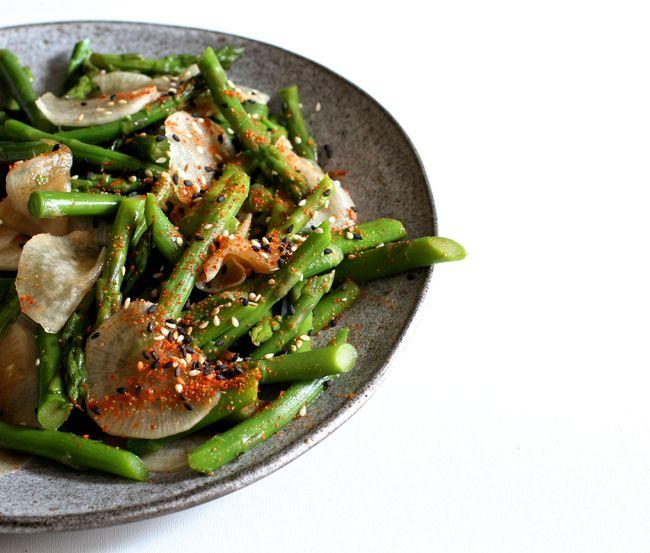 Crunchy Asparagus Salad