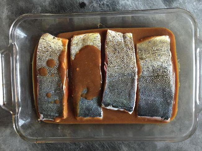 Mahi-Mahi Marinating Miso Glaze