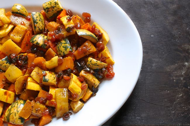 Winter Squash Agrodolce POST
