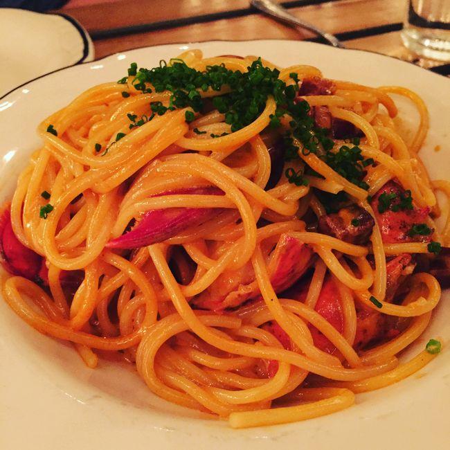 Joe Beef lobster spaghetti