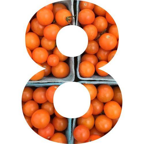 Cherry tomatoes year 8