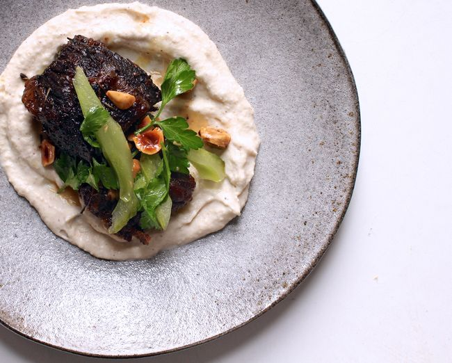Roasted Short Ribs With Cauliflower And Celery POST