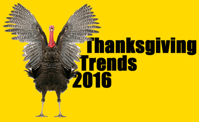 Thanksgiving trends