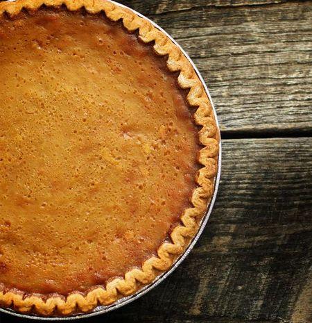 Maple Syrup Pie with Crème Fraîche