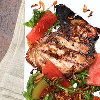 Vietnamese Pork Chops sqwith Pickled Watermelon copy