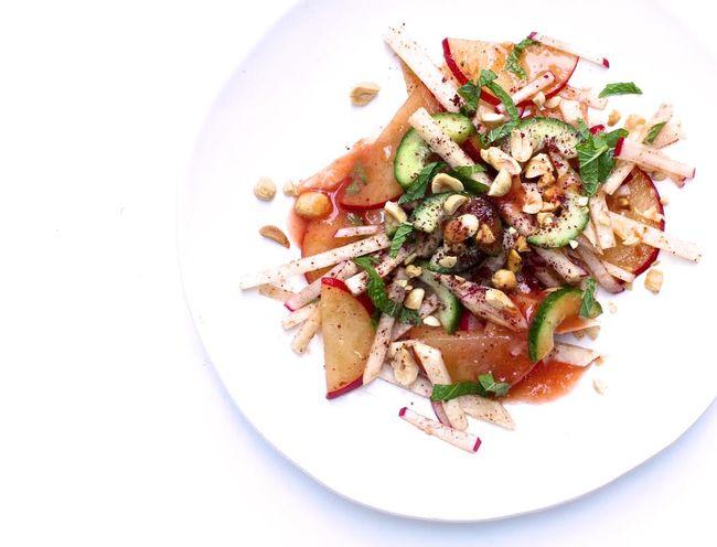 Jicama, Radish and Pickled Plum Salad