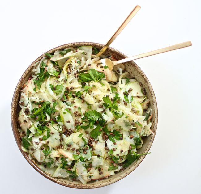 Shaved apple fennel salad 2nd