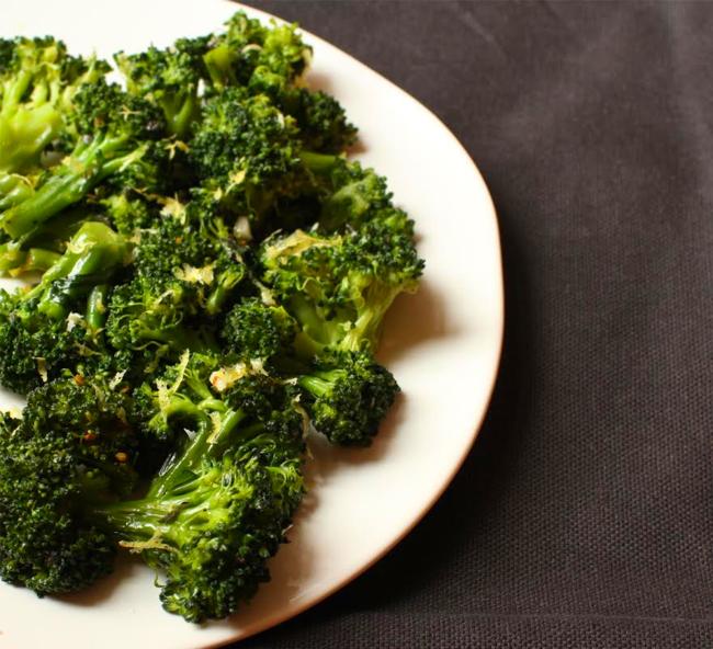 Broccoli lemon oregano
