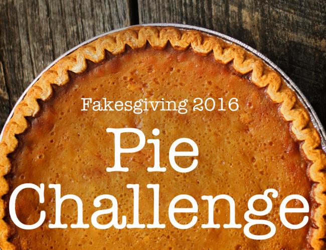 Pie challenge 2016