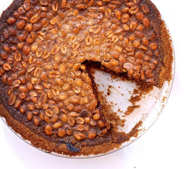 Black bottom peanut pie POST