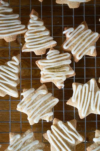 Cinnamon Almond Stars