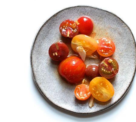 Asian Marinated Tomatoes