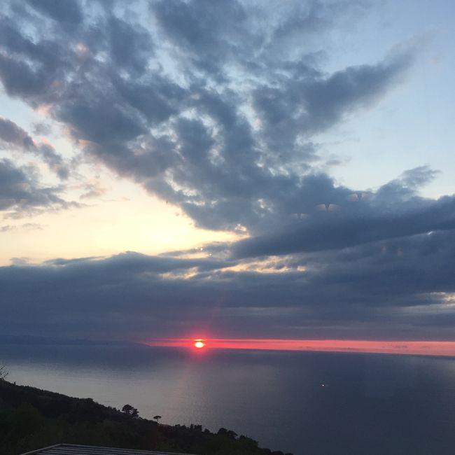 Akelare sunset San Sebastian