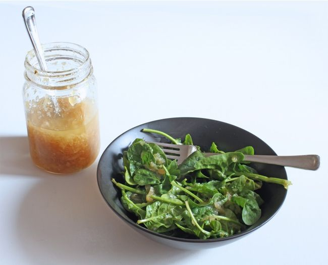 Apple and Sweet-Onion Vinaigrette POST
