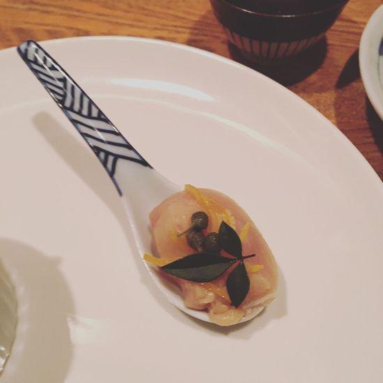 Yakitori chicken sashimi