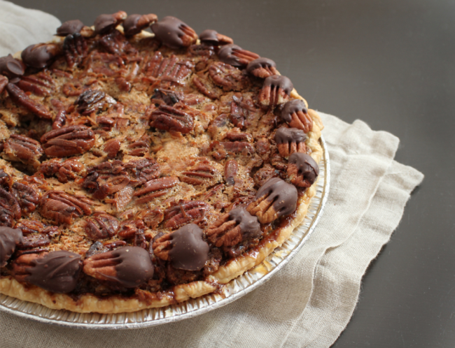 Chocolate pecan pie POST