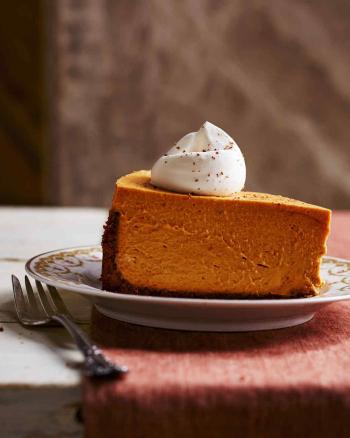 Deep dish pumpkin MSL